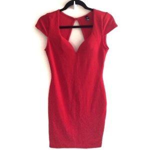 Red Windsor Dress - Short